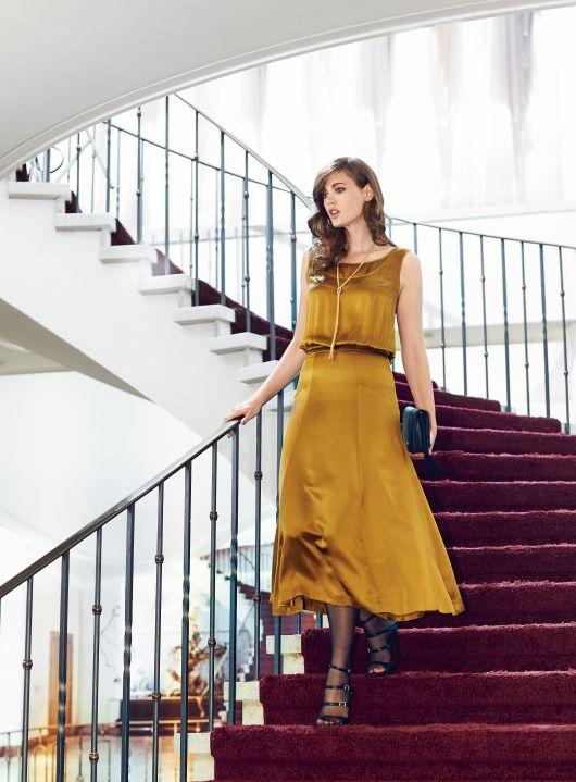 Сукня з ефектом багатошаровості