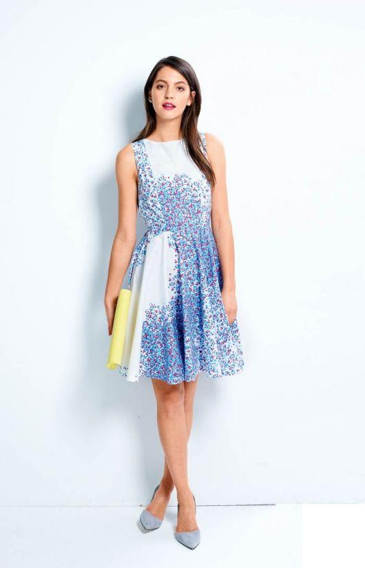 Сукня зі спідницею-сонце з колекції Cacharel