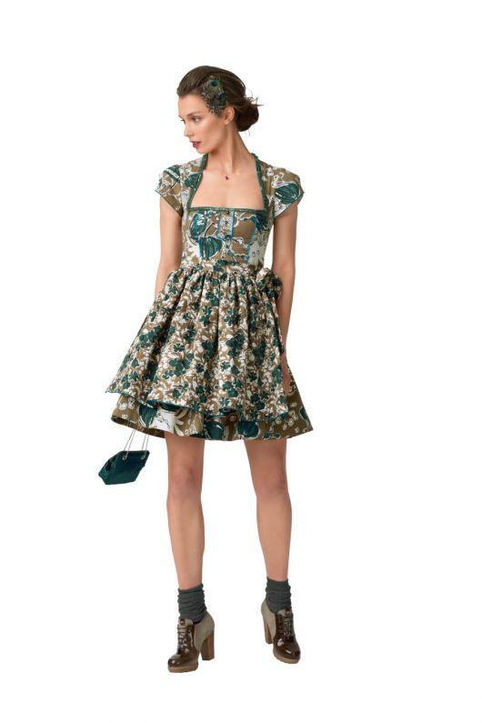 Дірндль: сукня та фартух