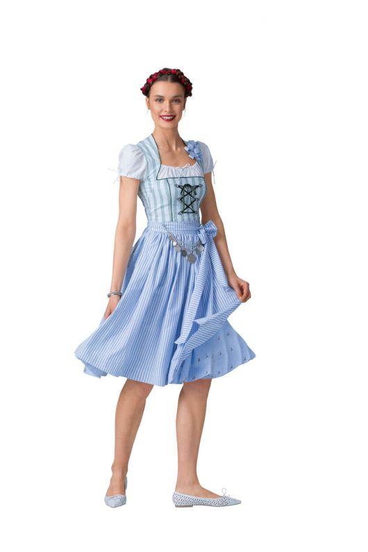 Сукня із рукавами-ліхтариками