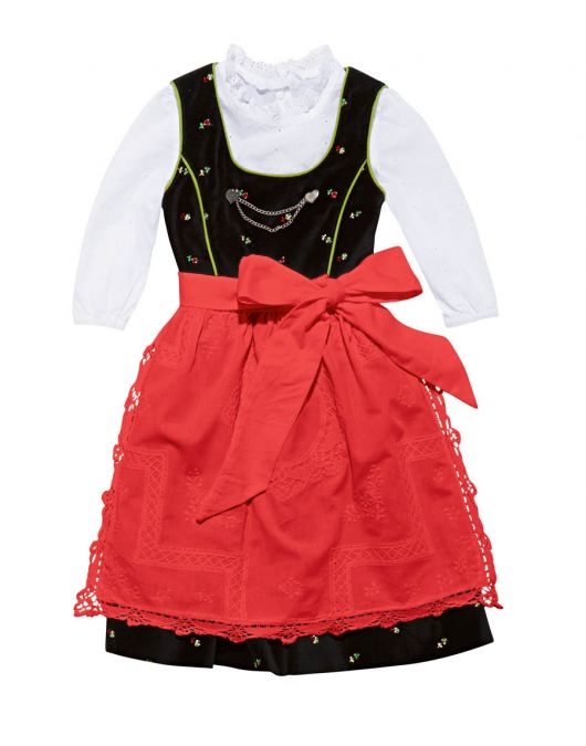 Сукня та фартух у фольклорному стилі