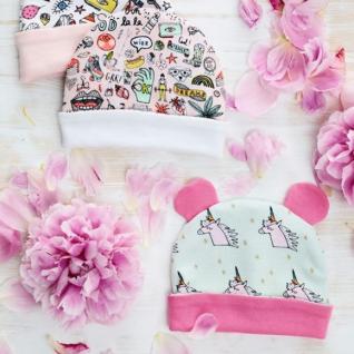Як пошити для малюка трикотажну шапочку з вушками