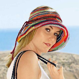 Як сплести гачком літній капелюх