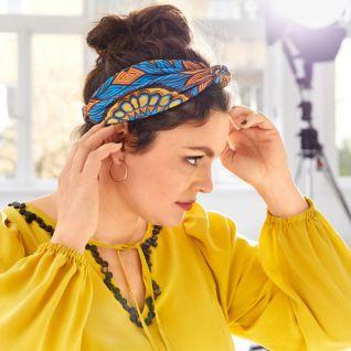 Як пошити пов'язку для волосся