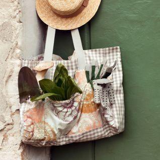 Як пошити велику сумку для роботи в саду