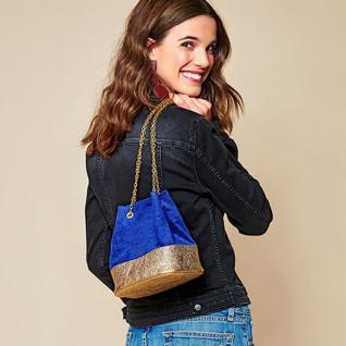 Як пошити модну сумку-мішок із залишків тканин
