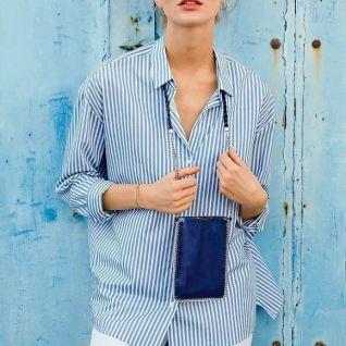 У форматі міні: сумочка-гаманець на шию
