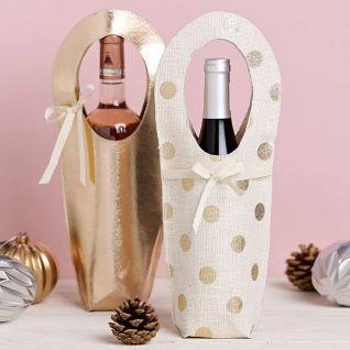 Як пошити святкову торбинку для шампанського