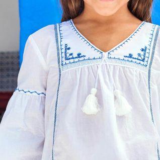Прикрашаємо блузку ручною вишивкою