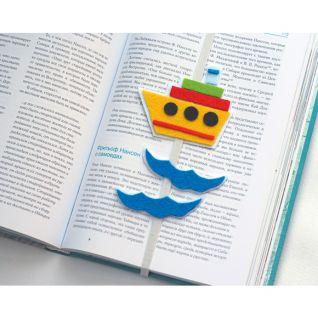 Закладка для книги з декоративного фетру власноруч