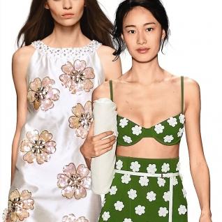 Флористичний декор одягу та аксесуарів