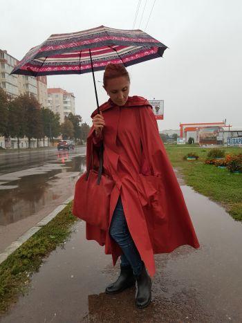 Накидка - захист від дощу