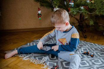 """Новорічні піжамки """"Знайди чотирилапого друга"""""""