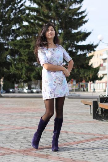 Сукня в стилі 70-х