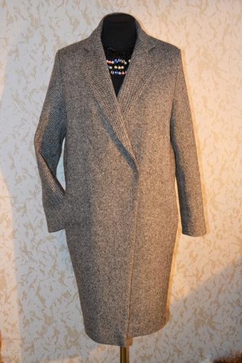 Твідове пальто оversize