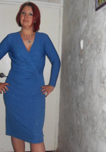 Сукня з драпіруванням - майже дрес-код