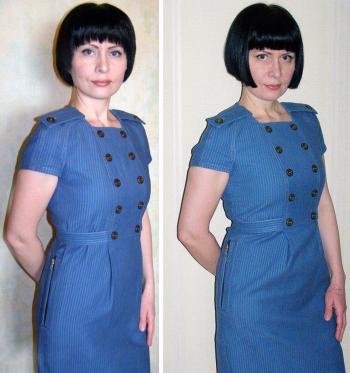 Сукня для фотофоруму Burda. #10 year challenge