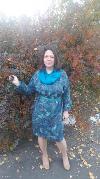 Сукня для осінніх днів