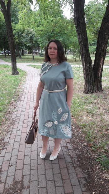Сукня - витинанка