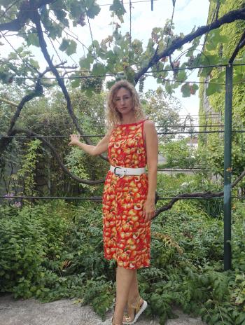 Сарафан «Соковиті персики»