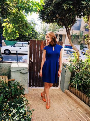 Колір настрою - синій! Сукня