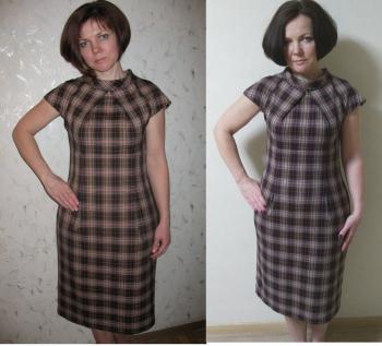 Сукня для флешмобу #10 year challenge
