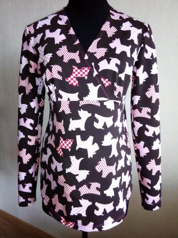 Пуловер для майбутньої матусі