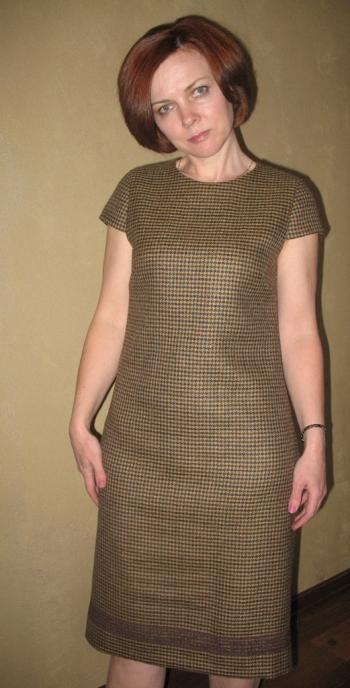 Тепла сукня до комплекту. Бурда №2 2013р.