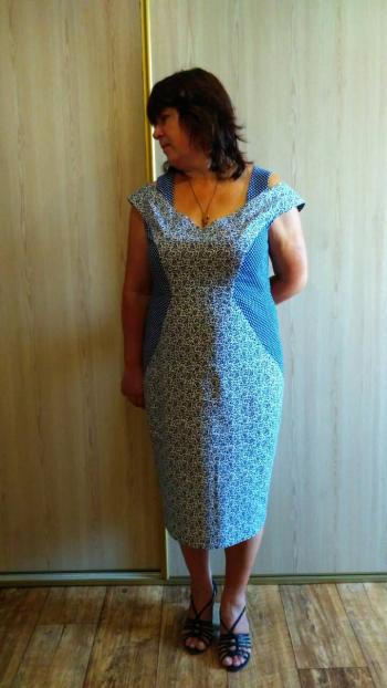 Комбінована сукня