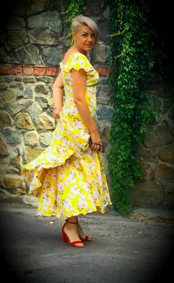 Круїз - сукня для проекту;)