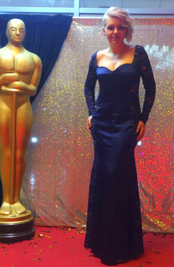Сукня для голлівудської вечірки