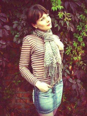 Стара добра смужечка. Пуловери