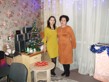 В  Новий рік з новою сукнею