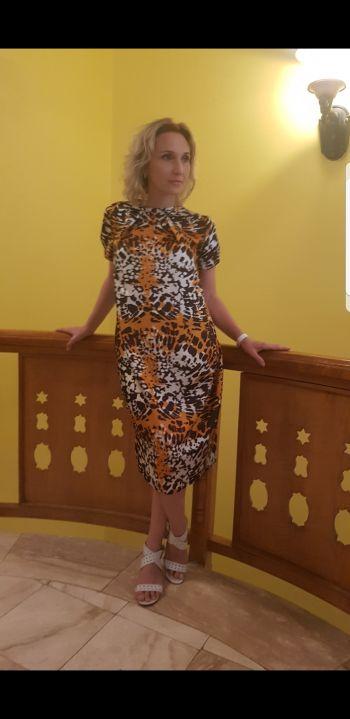 Сукня О-силуету