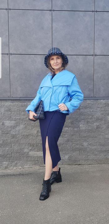 Куртка з коміром XL