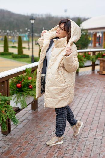 Казковий грудень, або несумна зима! Пальто-пуховик