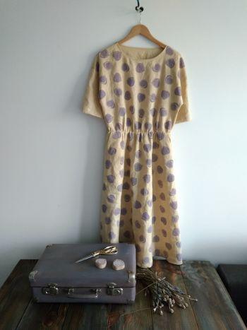 Сукня з інжиром