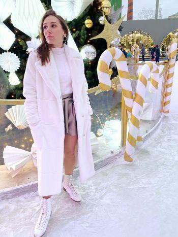 Зимові шорти з еко-шкіри