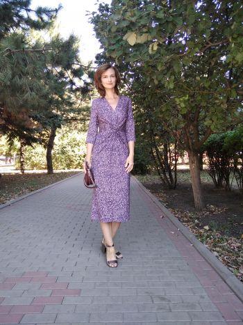 """Сукня Проєкт """"Стань моделлю для новорічної обкладинки Burda Style!"""""""