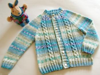Кофтинка плетена для маляти