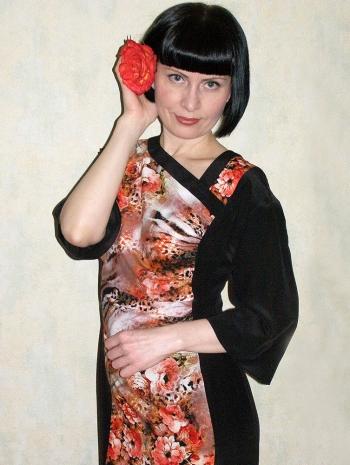 Сукня в азіатському стилі