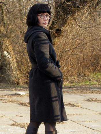 Дуже тепле пальто для доньки