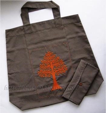 Вишита еко-сумка. Майже майстер-клас:)
