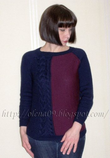 Пуловер для доньки