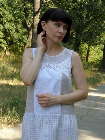 Сукня - потертий шик