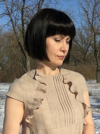 706239c8d866b3 Бажана сукня з воланами | burdastyle.ua