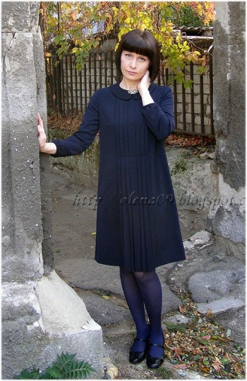 "Синя сукня в стилі ""Шанель"""