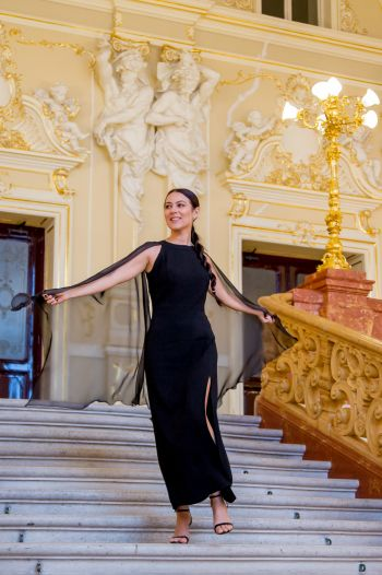 """Одеський зимовий флешмоб """" Вечірнє вбрання"""". Моя сукня з крилами!"""
