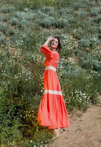 """Одеський флешмоб """" Шиємо у бохо та етно стилі"""" Сукня із батисту."""