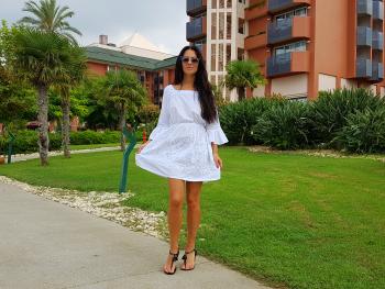 Сукня з туніки